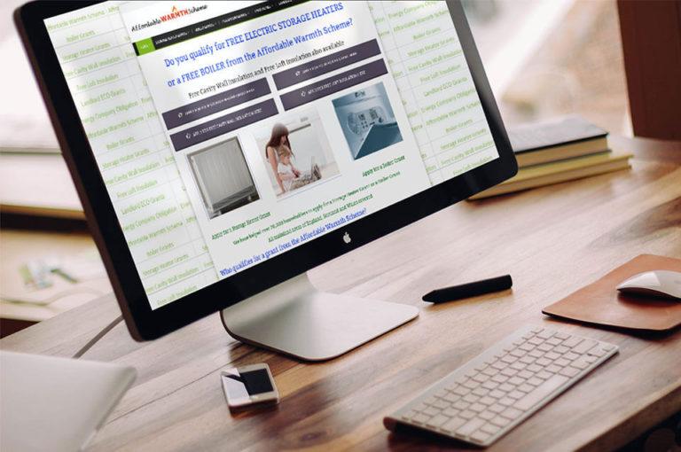 Affodrable Warmth Scheme Web Design