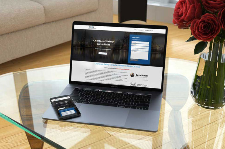 Safety Consultant Web Design
